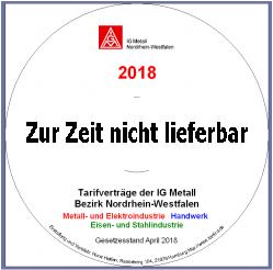 NRW Tarif-CD 2018